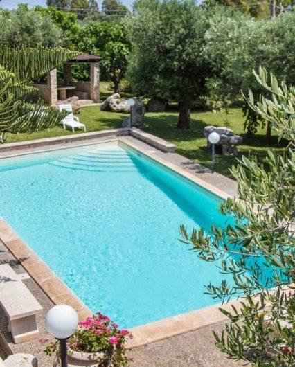 Villa con piscina BELLAVISTA da 6 a 8 posti